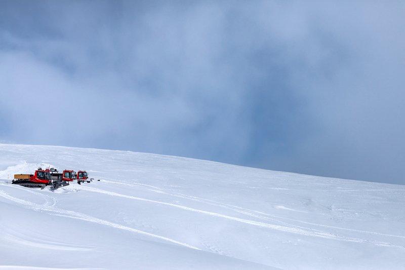 ратрак, эльбрус, гора, снег, зима, winter, snow, elbrus, гарабаши Ратраки Эльбрусаphoto preview