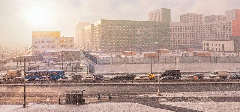 Солнечно-снежный деньphoto preview