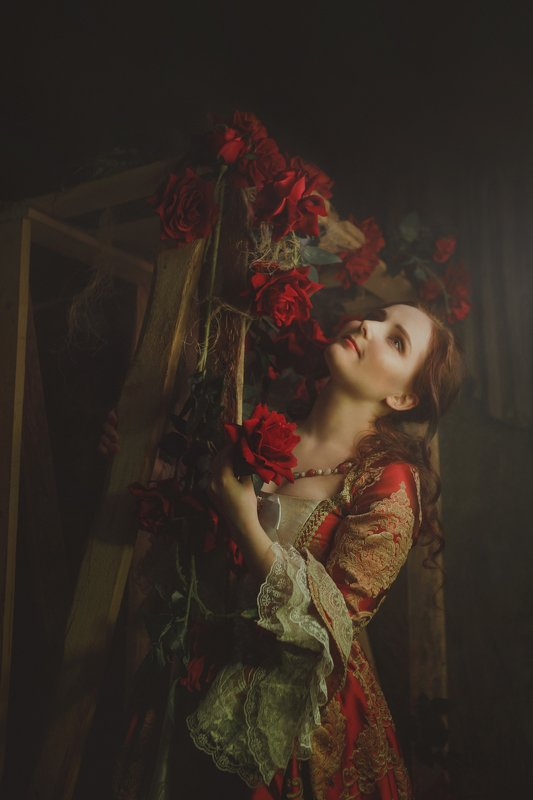 сказка, концептуальная фотосъемка, женский портрет Сказкаphoto preview