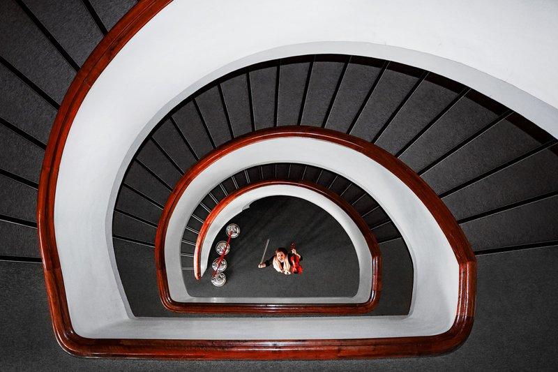 human, conceptual, art, fine art, minimal. Into the Spiralphoto preview
