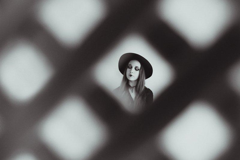 монохром, черно-белое фото, портрет, женский портрет, студия Монохромphoto preview