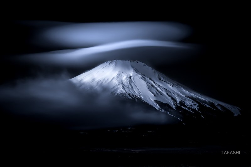 Fuji,mountain,Japan,cloud,snow,winter,amazing Silky hatphoto preview