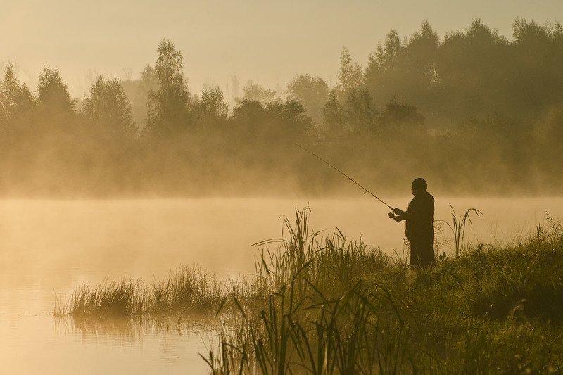 утро, рыбак, коптево С надеждой на лучшееphoto preview