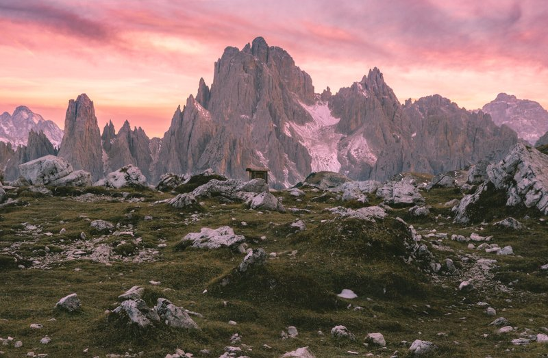 пейзаж; горы; закат Каменное царствоphoto preview