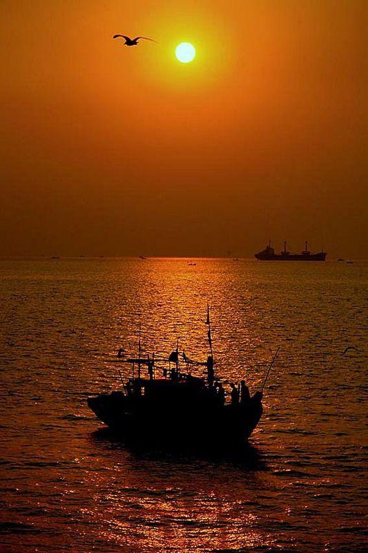 ...о Индии, рыбалке и закатах..photo preview