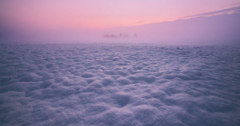 Вдали туманного рассветаphoto preview