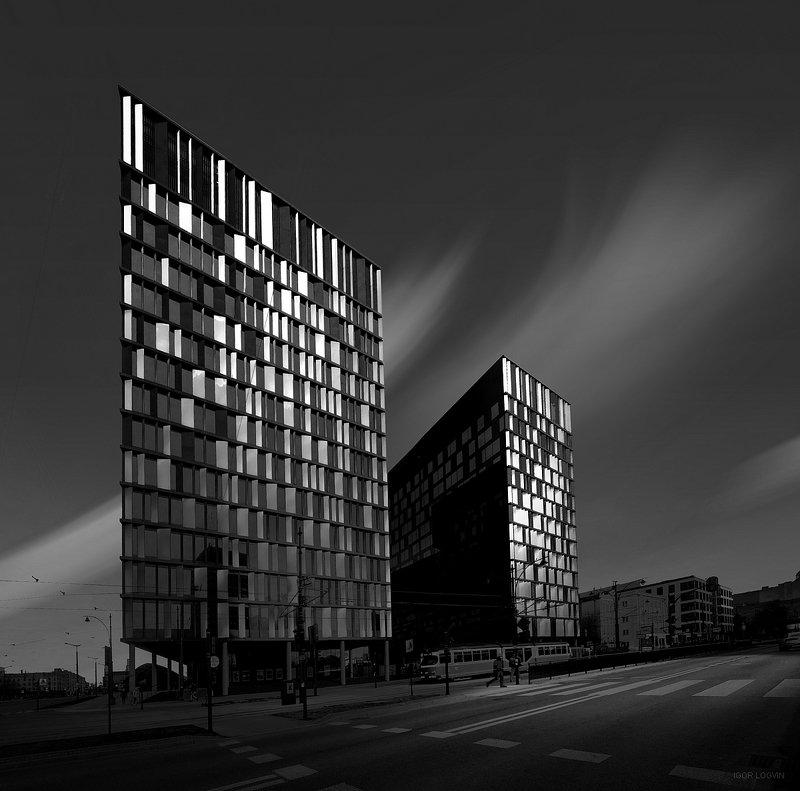 Lódz город Польша Poland Польша архитектура Lódz Fabricznaphoto preview