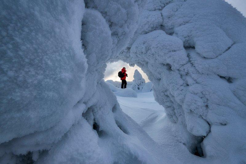 Зима за полярным кругом.photo preview