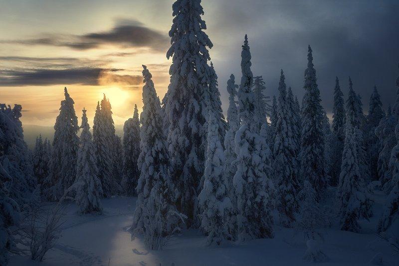 таганай, урал, горы, зима, лес В Таганайской сказкеphoto preview
