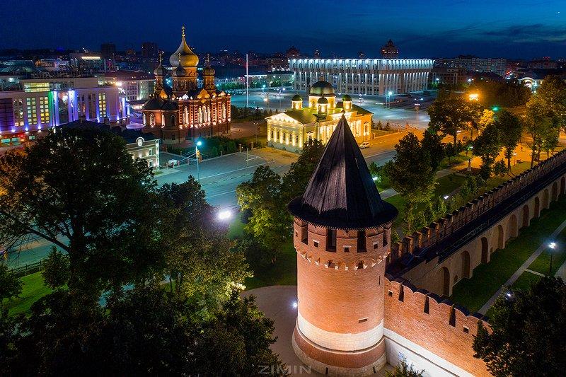 тула, тульская, область, кремль Тула Вид на центр городаphoto preview