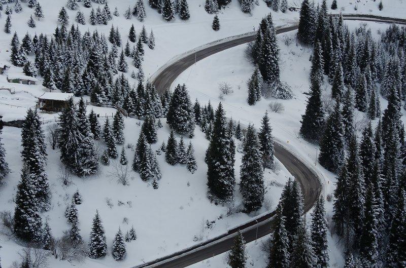 Медео горы дорога   ***photo preview