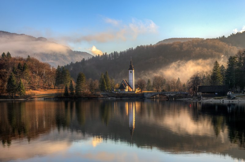 озеро Бохинь. Словения...photo preview