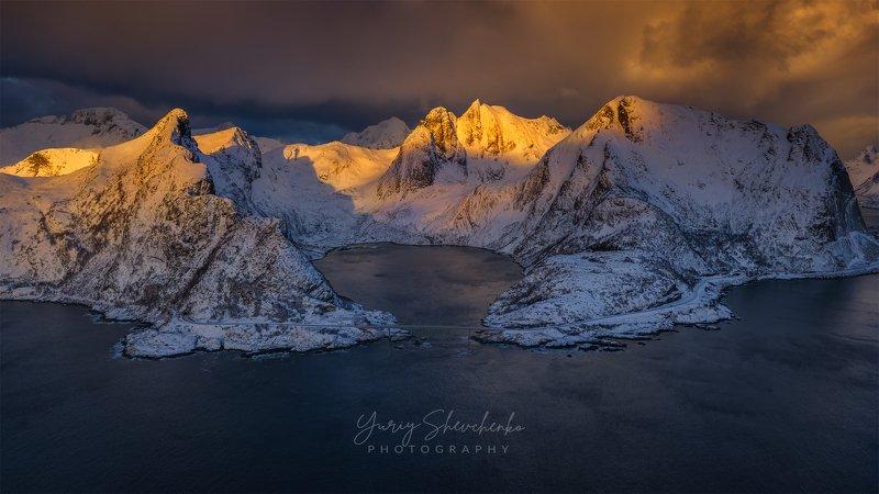 norway, lofoten, lofoten islands, рейне, reine North morning.photo preview
