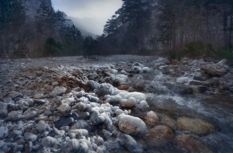 учкош, крым, ялта, зима, пейзаж Уч-Кошphoto preview