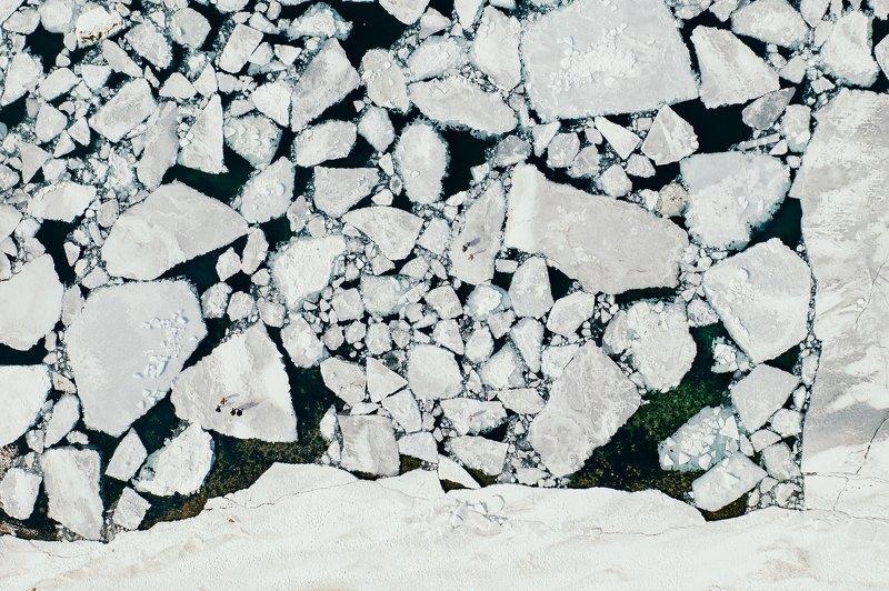 аэросъемка, владивосток, приморье, лед, квадрокоптер, зима, льдины Катались на льдинах?)photo preview