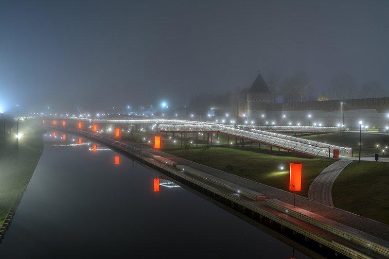 В городе туман.photo preview