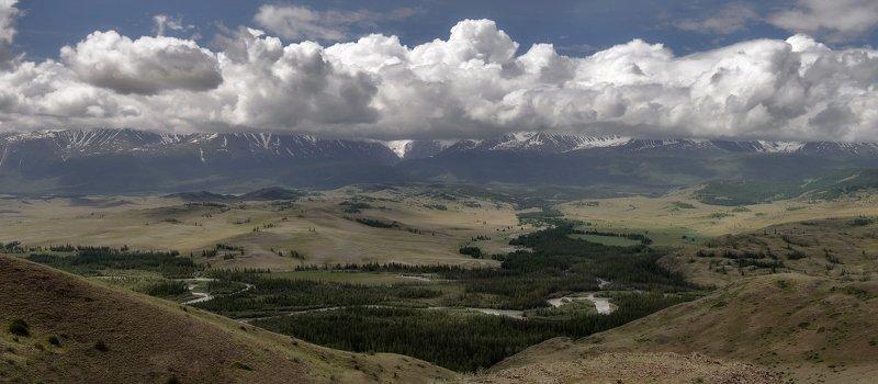 алтай.северо-чуйский хребет. Над облаками.photo preview