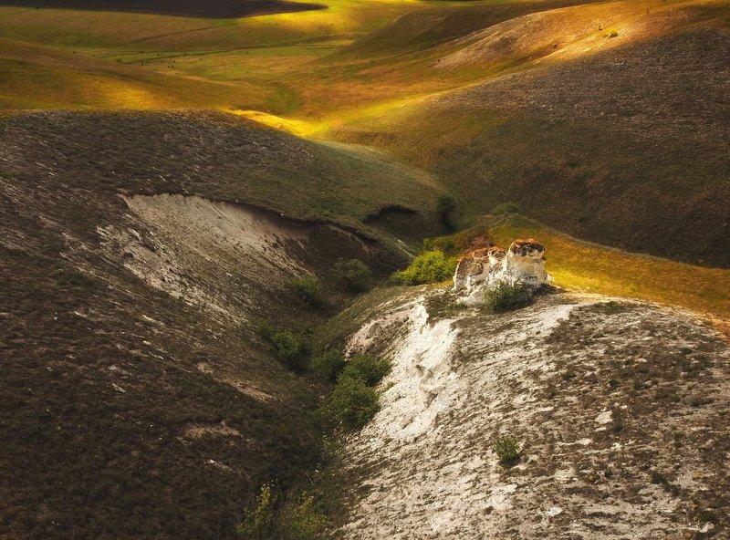 дивногорье, аэросъемка, воронежская область Дивные скалыphoto preview