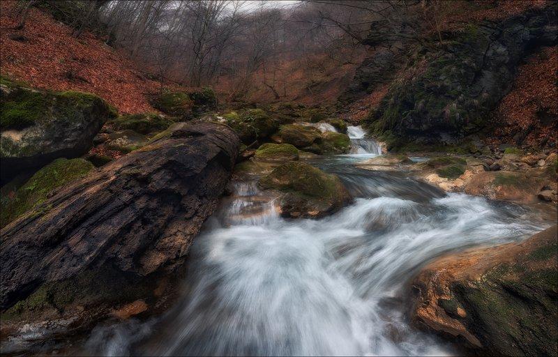 румыния, romania, зима, осень, Шум воды ..photo preview