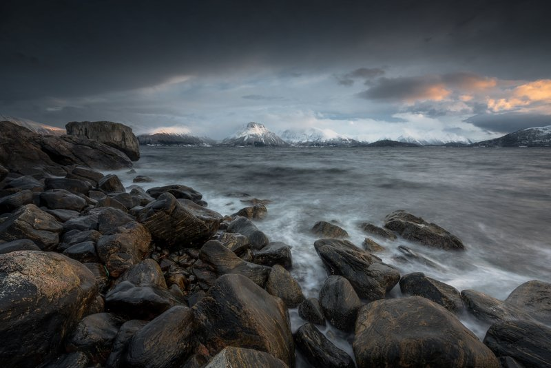 sea,norway,coast,mountains Norwayphoto preview