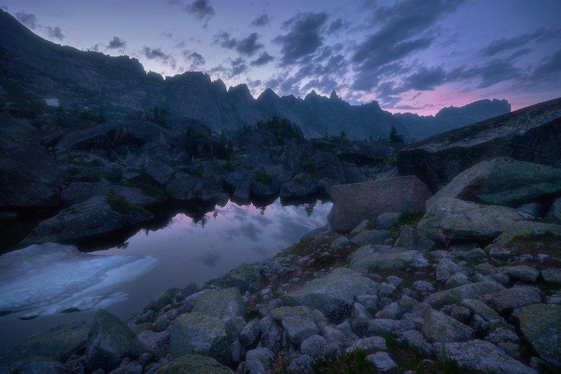 ергаки, горы, саяны, сибирь Вечерняя Гармонияphoto preview