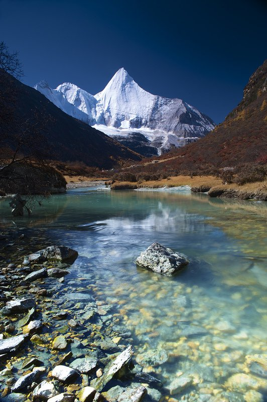 landscapes mount meili & yading in west sichuan chinaphoto preview
