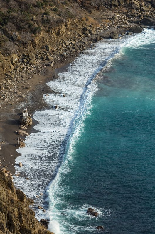 балаклава, севастополь, крым, природа, зима, февраль, горы, море Море. . .  море. . .photo preview