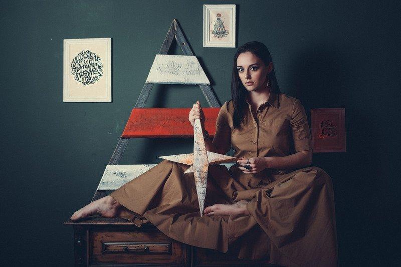 девушка, портрет Валентинаphoto preview