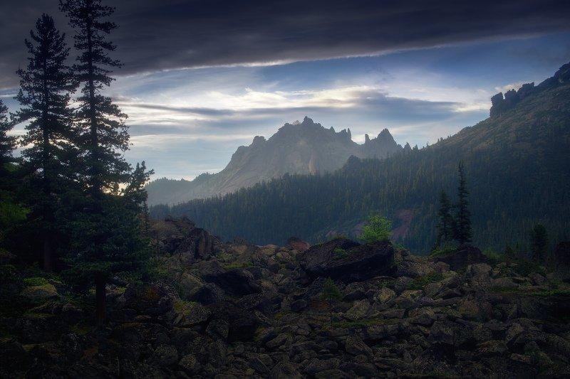 ергаки, горы, саяны, сибирь Каменный замокphoto preview