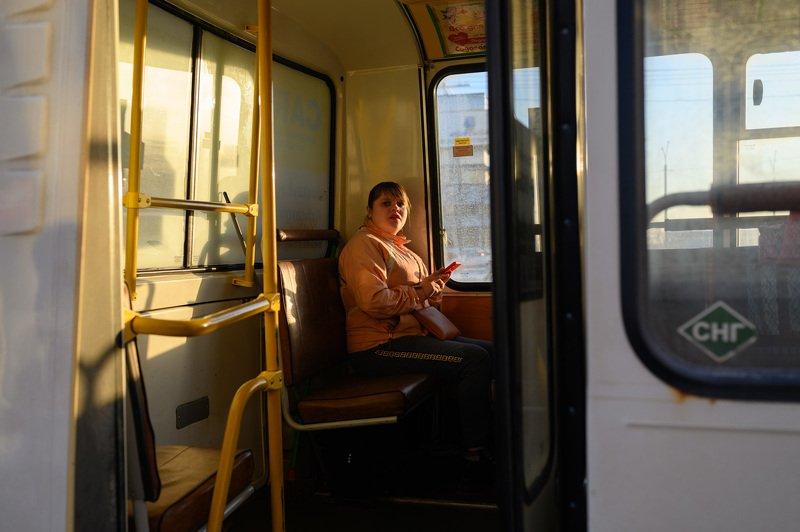 уличная фотография, streetphotography, архангельск, Последний автобусphoto preview
