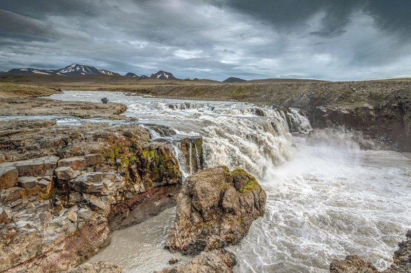 исландия,iceland мятежный дух стихии воднойphoto preview