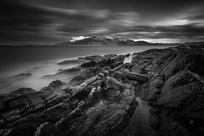 norway,b&w,landscape Norwayphoto preview