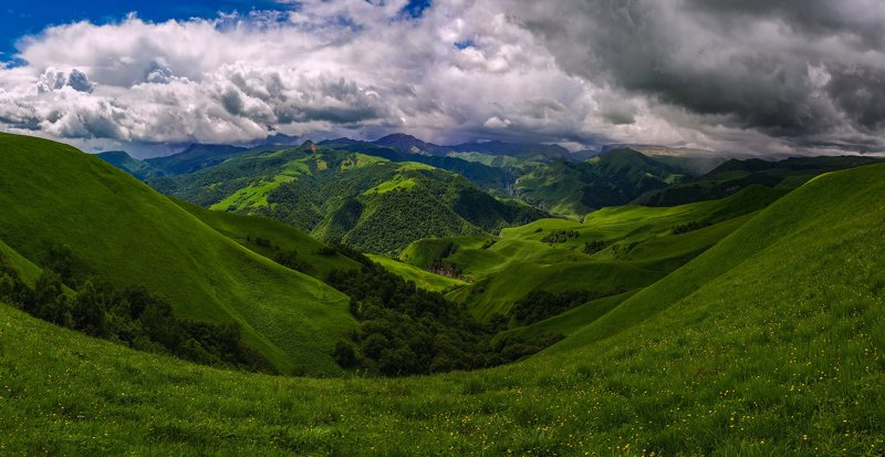 горы,весна,кавказ,тызыл the song of spring...photo preview