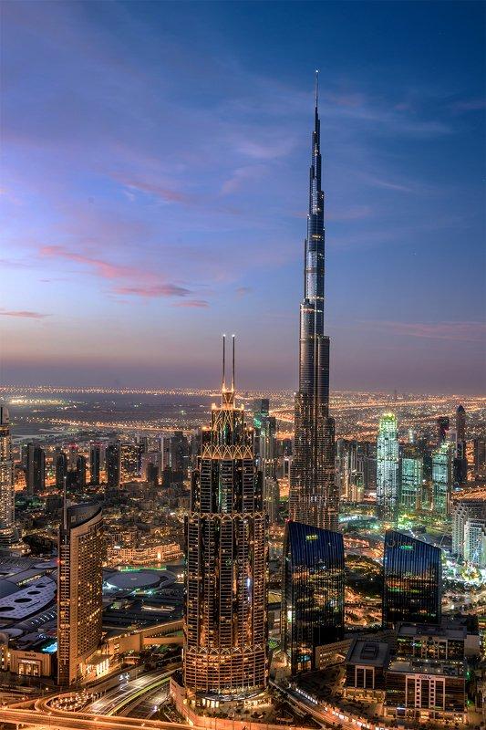 dubai cityscape architecture longexposure rooftop photography Dubai Cityscapephoto preview