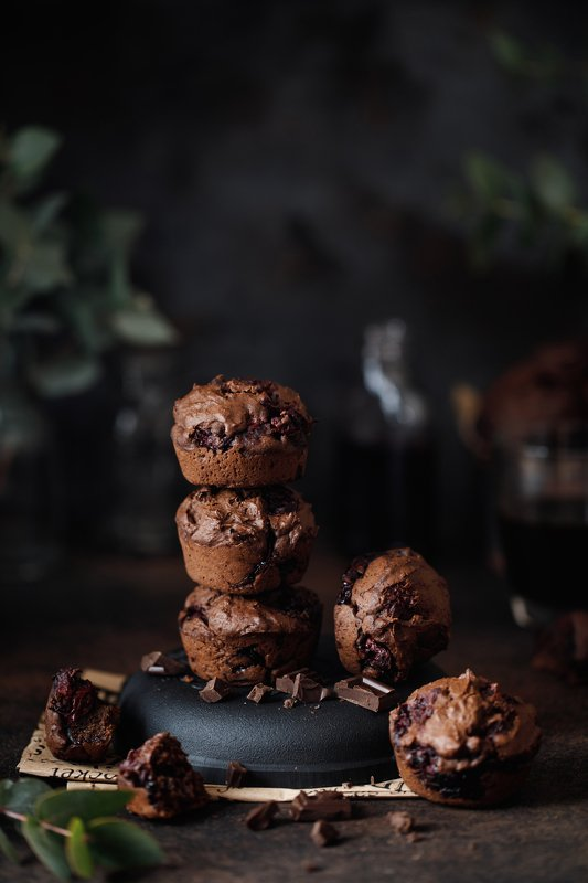Шоколадные маффиныphoto preview