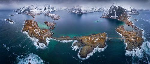 Панорама Лофотенских островов