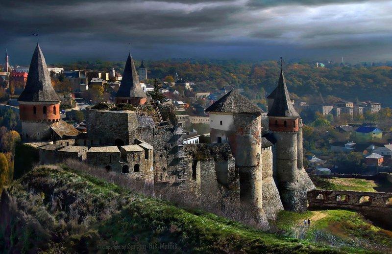 замок, каменец-подольский, крепость, украина, замки крепости украины После-грозовое-штормовое в Каменец-Подольскеphoto preview