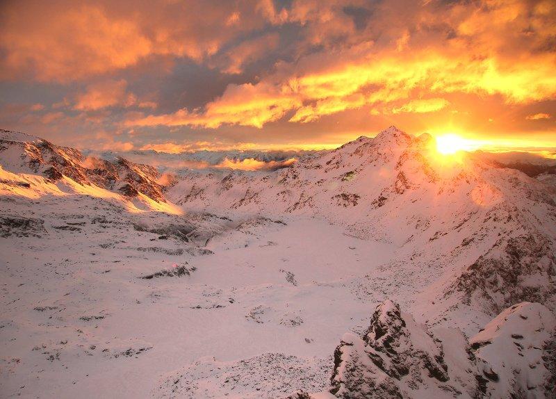 горный рассветphoto preview