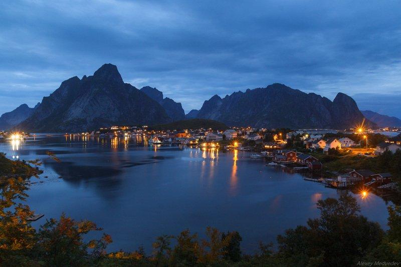Lofoten, Norway, Норвегия Рейнеphoto preview