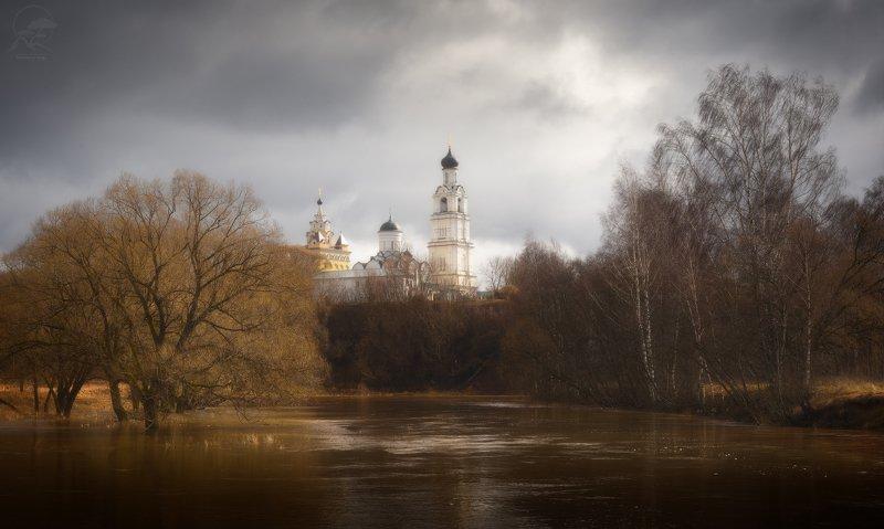пейзаж, природа, разлив, весна Мартphoto preview