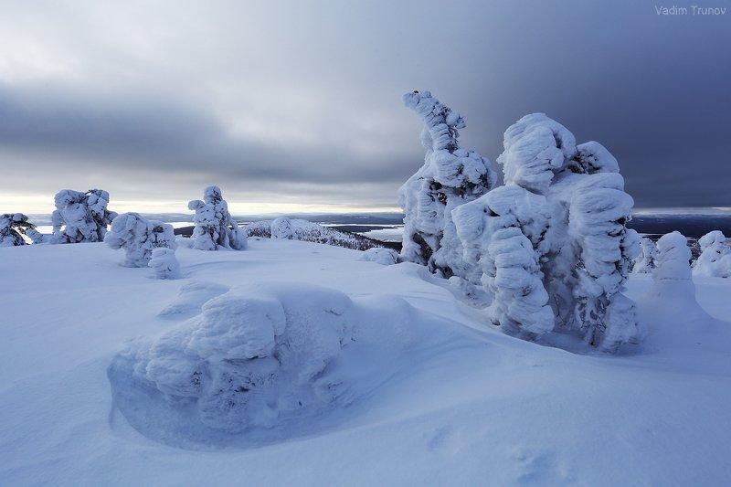 кольский, север, заполярье Северная зимаphoto preview