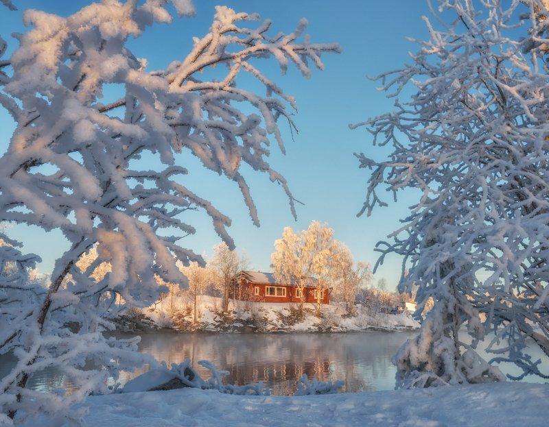 кольский Мороз и солнце; день чудесный!photo preview