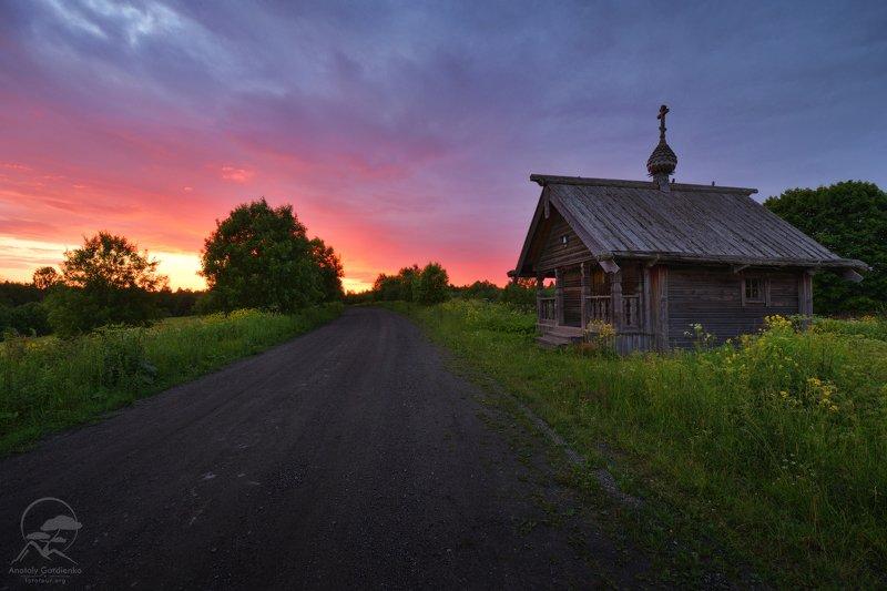 пейзаж, природа, карелия, архитектура По дорогам русского севераphoto preview