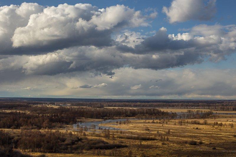 март небо облака венец весна Плывут по небу облакаphoto preview