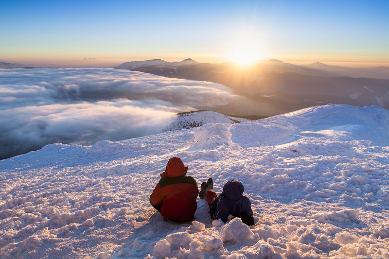Карпаты, Украина, черногора, чорногора, пич, зима Канарыphoto preview