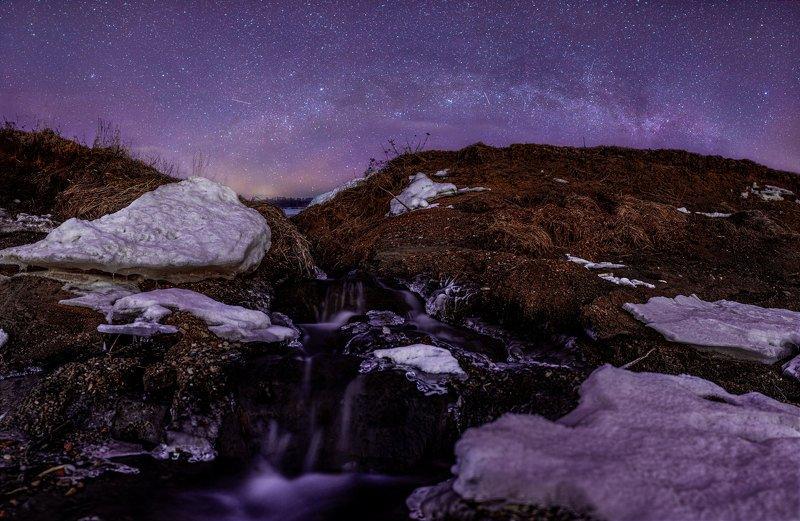 звезды, млечный путь, ночь, астрофото, река р. Чусоваяphoto preview