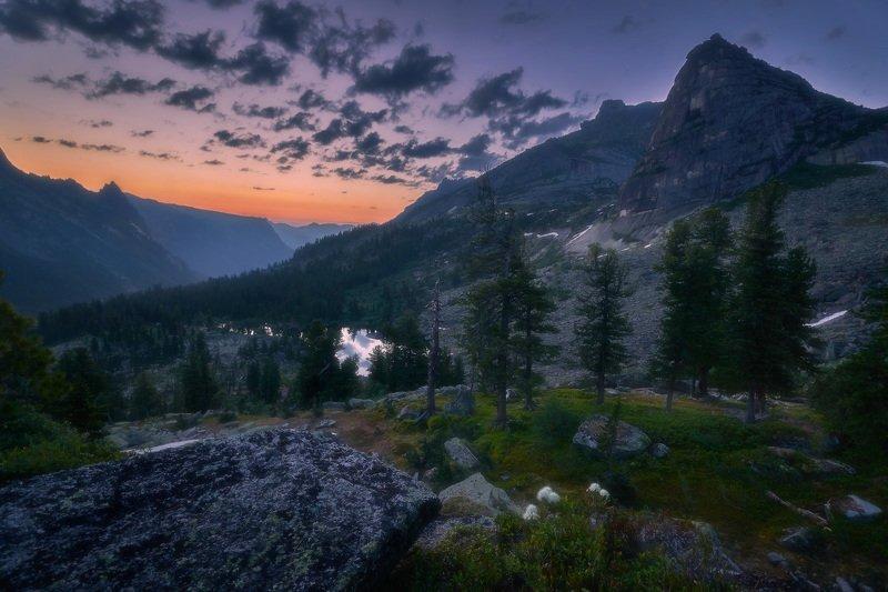 ергаки, горы, саяны, сибирь Рассвет в Саянахphoto preview