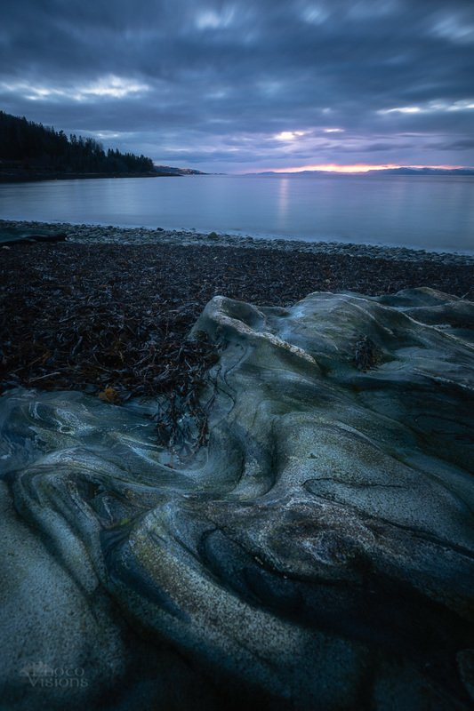 rock,shore,seascape,sunset,blue hour,norway,norwegian,muruvik,shoreline Geological cakephoto preview