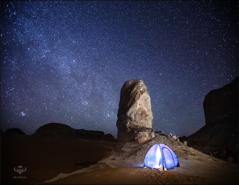 египет, пустыня, ночное фото, mb-world Под звездным небосводом...photo preview