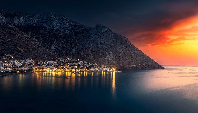 landscape, sifnos, sunset The Last Lightphoto preview